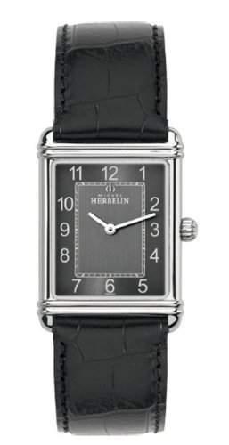 Michel Herbelin Herren-Armbanduhr Analog Quarz Leder 1746824