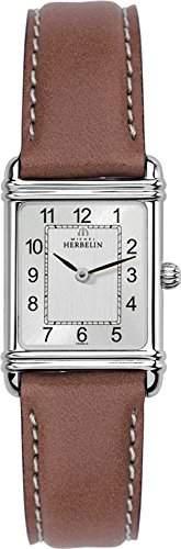 Michel Herbelin 1747822GO Damen Armbanduhr, Leder, Farbe: Braun