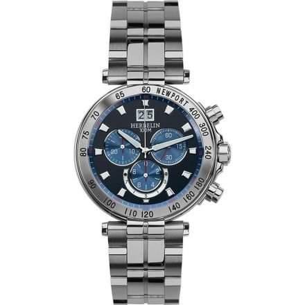 Michel herbelin Newport Chronograph Herren Uhren - 36695B65