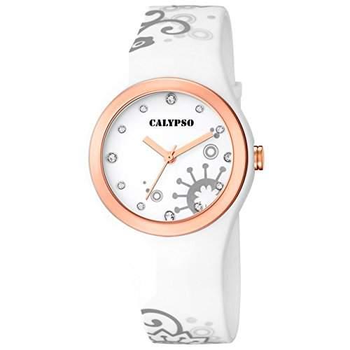 Calypso Damen-Armbanduhr Trend analog Quarz PU D1UK56313