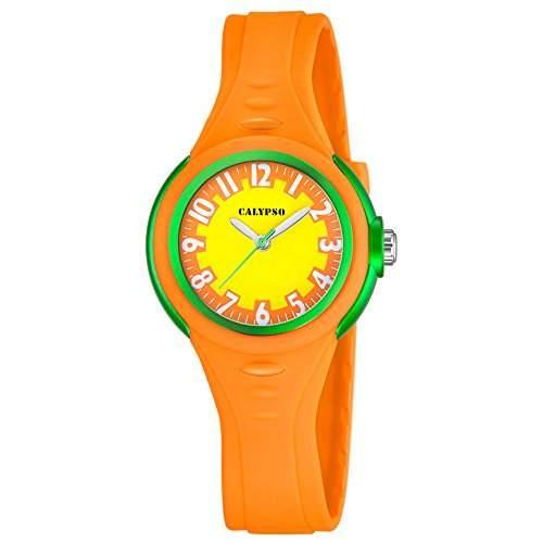 Kinder Armbanduhr analog orange ? Calypso K56862