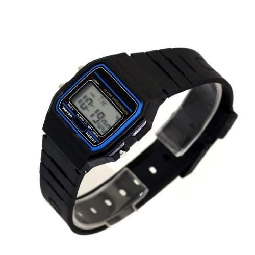 Unisex Digital Armbanduhr Uhr 80er Eighties Style Farbe- Schwarz