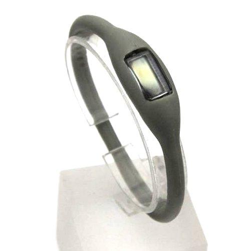 Original Oramics Digital Uhr Sportleruhr Silikonuhr Power Band ideal fuer Hochleistungssportler in Grau