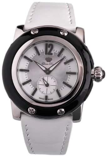 Glam Rock Damen-Armbanduhr XL Analog Leder GR10022