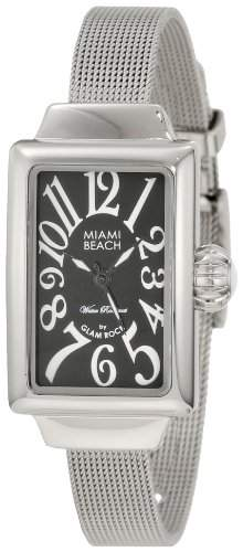 GLAM ROCK MIAMI BEACH ART DECO DAMEN MINERAL GLAS UHR MBD27056