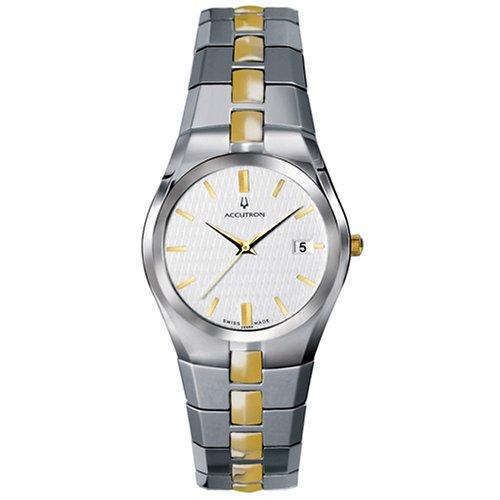 Accutron Herren 28B84 Luzern Klassische Armbanduhr
