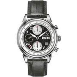 Bulova Accutron Mens Gemini Series Mechanical Strap Watch 63C011