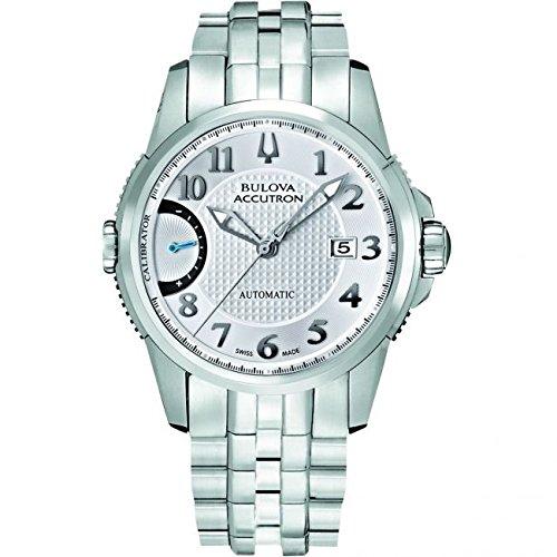 Bulova Accutron Mens Limited Edition Calibrator Bracelet Watch 63B161