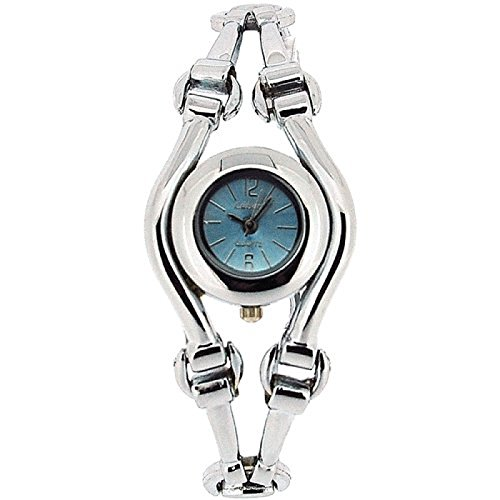 The Olivia Collection Damen Armbanduhr mit blauem Zifferblatt COS34