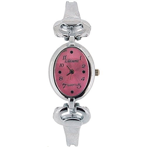 The Olivia Collection Damen Armbanduhr mit rosa Zifferblatt COS40