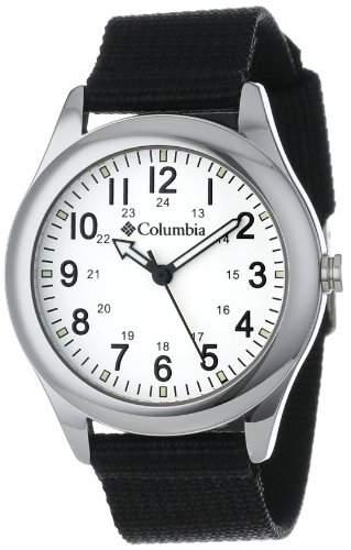 Columbia Unisex CA016001 Field Fox Black Canvas Armbanduhr