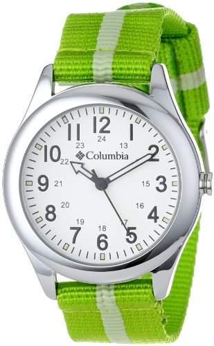 Columbia Unisex CA016340 Field Fox Green Canvas Armbanduhr