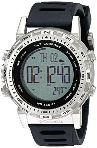 Columbia Schlafsack ASCENT Uhr Hoehenmesser Barometer Kompass Thermometer Wasserabweisend 100 M