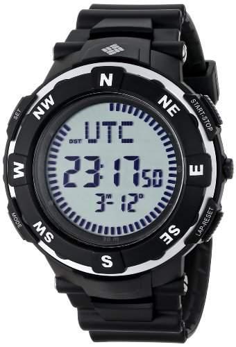 Columbia Herren CT009-005 Venture Digital Display Quartz Black Armbanduhr
