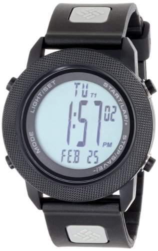 Columbia Herren CT100-008 Basecamp II Digital Display Quartz Black Armbanduhr
