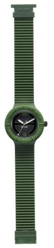 Hip Hop Unisex-Armbanduhr Analog Edelstahl schwarz HWU0118