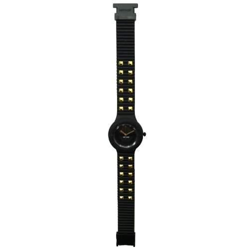 HIP HOP HWU0247 Rock Uhr Kautschuk Kunststoff 30m Analog schwarz