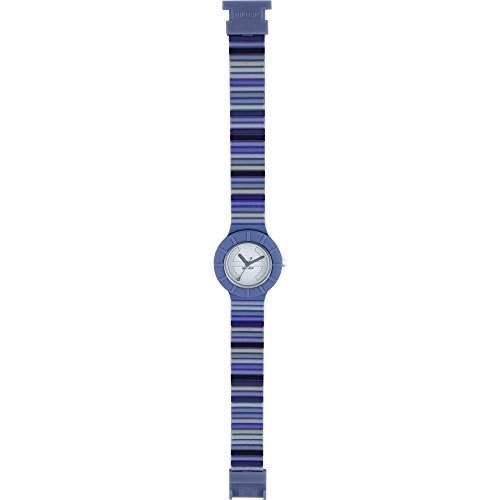 HIP HOP HWU0345 Millerighe Uhr Kautschuk Kunststoff 30m Analog blau