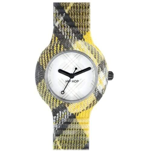 ORIGINAL BREIL HIP HOP Uhren TARTAN Unisex EDINBURGH YELLOW - hwu0375