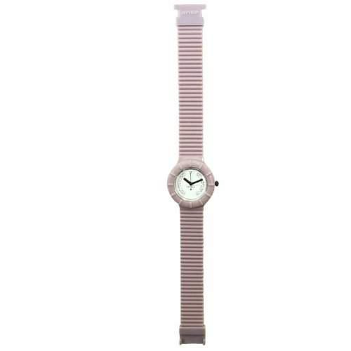HIP HOP HWU0385 Crystal Uhr Kautschuk Kunststoff 30m Analog lila