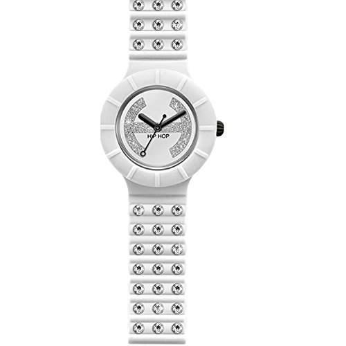 BREIL HIP HOP Uhren CRYSTAL Damen Uhrzeit Absolute white - hwu0485