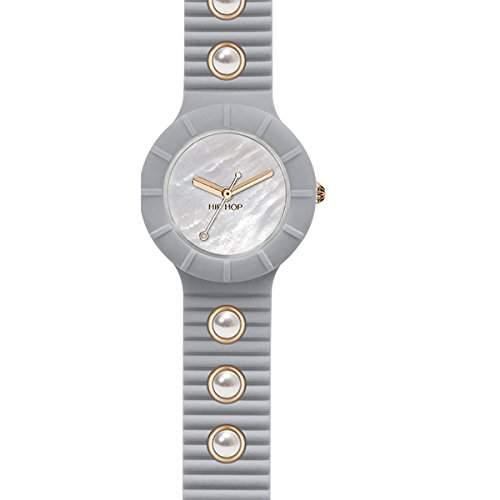 BREIL HIP HOP Uhren PEARLS Damen Uhrzeit warm grey - hwu0491