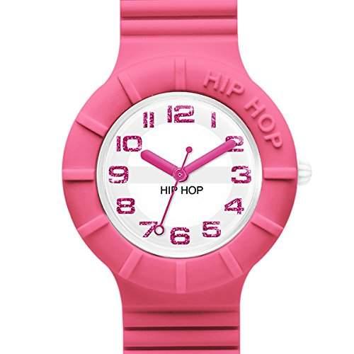 BREIL HIP HOP Uhren NUMBERS GLITTER Damen Rosa lem - HWU0523