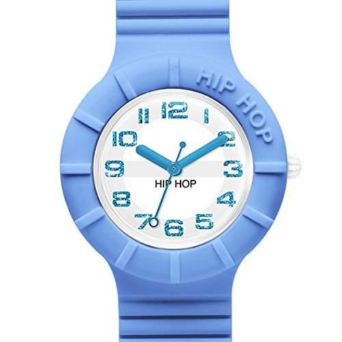 BREIL HIP HOP Uhren NUMBERS GLITTER Damen Blau - hwu0527