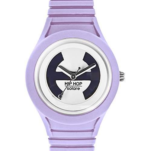 BREIL HIP HOP Uhren Solar Unisex Solar betrieben Violett - hwu0537