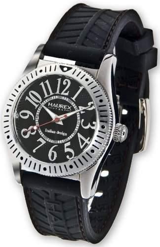 Haurex Italien Herren 1A331UNN Versprechen drehbare Luenette Uhr