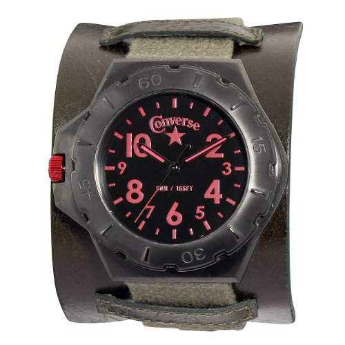 Converse Herren-Armbanduhr XL Analog Leder VR006-305