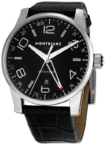 MONTBLANC UHR TIMEWALKER GMT AUTOMATIK STAHL 36065