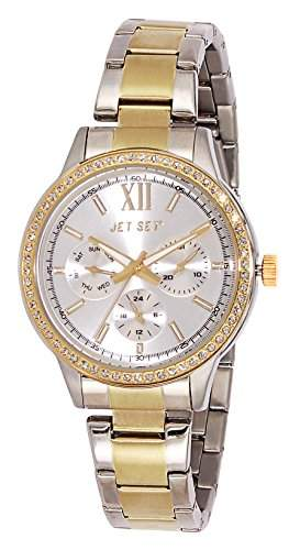 Jet Set Damen-Armbanduhr Swag Analog Quarz Edelstahl J16216-622