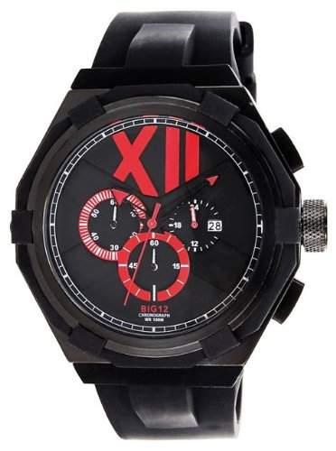 Jet Set Herren Chronograph Big XII schwarzrot J1131B-837