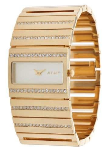 Jet Set Damen Armbanduhr Beverly Hills Gold J24908-752