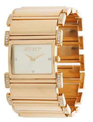Jet Set Damen Armbanduhr Beverly Hills Gold J26408-742