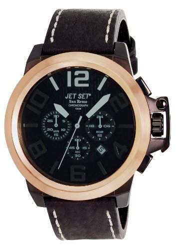 Jet Set Herrenuhr San Remo braunroségoldfarben J6190R-267