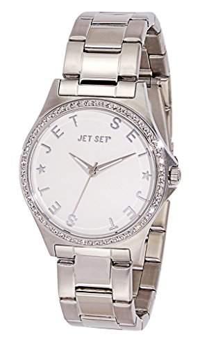 Jet Set-j74324-662-Beverly Hills Damen-Armbanduhr 045J699Analog silber Armband Stahl Silber