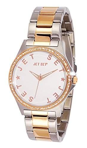 Jet Set-j74326-662-Beverly Hills Damen-Armbanduhr 045J699Analog silber Armband Stahl Silber