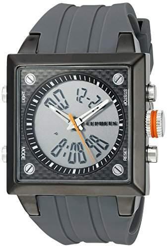 CEPHEUS Herren-Armbanduhr Analog Digital Quarz Silikon CP900-622B