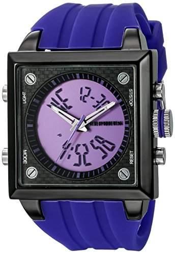 CEPHEUS Herren-Armbanduhr Analog Digital Quarz Silikon CP900-633B