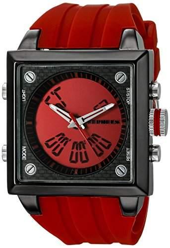 CEPHEUS Herren-Armbanduhr Analog Digital Quarz Silikon CP900-644