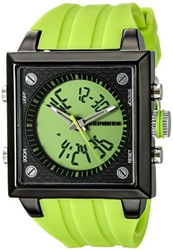 CEPHEUS Herren-Armbanduhr Analog Digital Quarz Silikon CP900-690A
