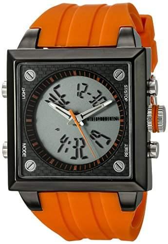 CEPHEUS Herren-Armbanduhr Analog Digital Quarz Silikon CP900-690C