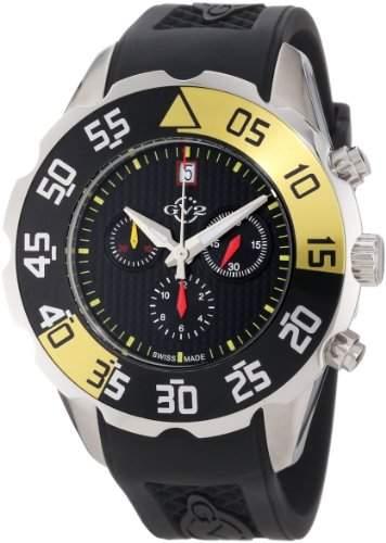 GV2 Herren-Uhren Parachute Chronohraph 3000R