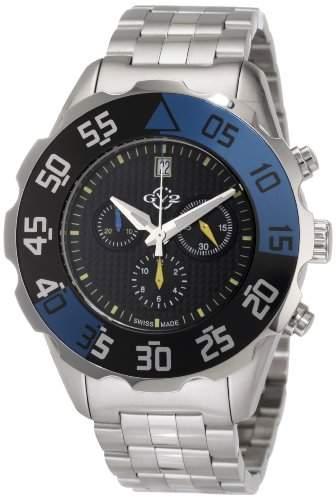 GV2 Herren-Armbanduhr Parachute Chronohraph 3001B