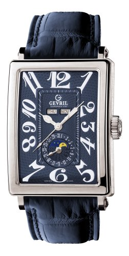 Gevril Herren 5034 Avenue of Americas Automatic Mondphase Uhr