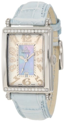 Gevril Damen 7247NT Avenue of Americas Blue Diamond Uhr