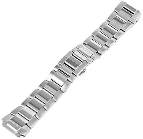 Philip Stein Damen-Armbanduhr Armband Edelstahl Batterie Analog 3-SS