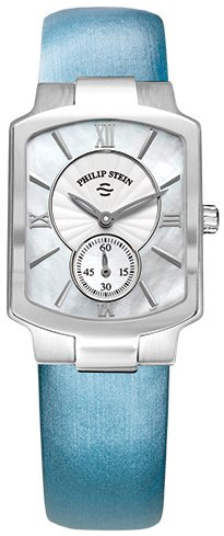 Philip Stein Classic 28mm Armband Satin Gehaeuse Edelstahl Schweizer Quarz 21 CMOP ITL